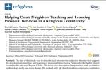 Académicos del Departamento de Psicología y estudiantes de Psicología publican artículo de investigación científica en una importante revista internacional.